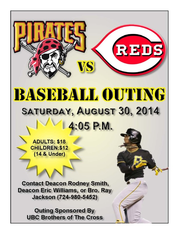 August 30 Baseball Outing Flyer2