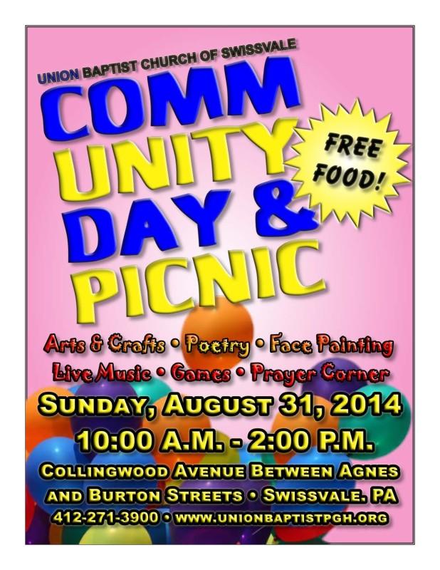 Trader Ministry Community Day 08-31-2014